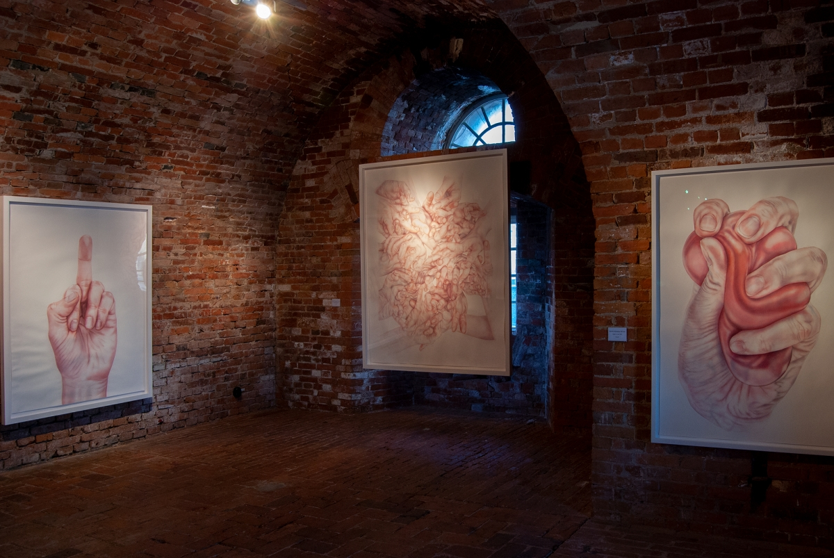 Installation view Valand Revisited
